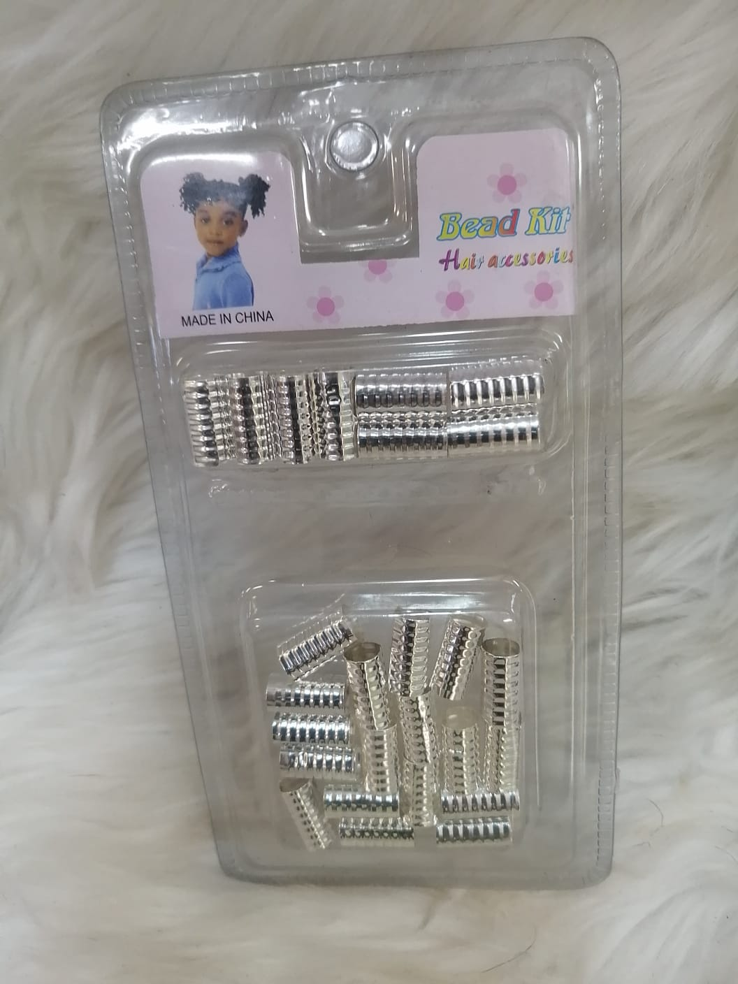 Bead Kit Hair bead in Silver