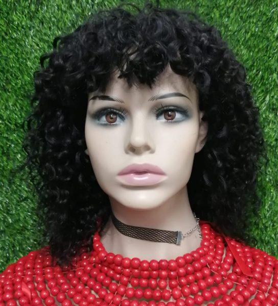 """8"""" Curly Fringe Wig"""